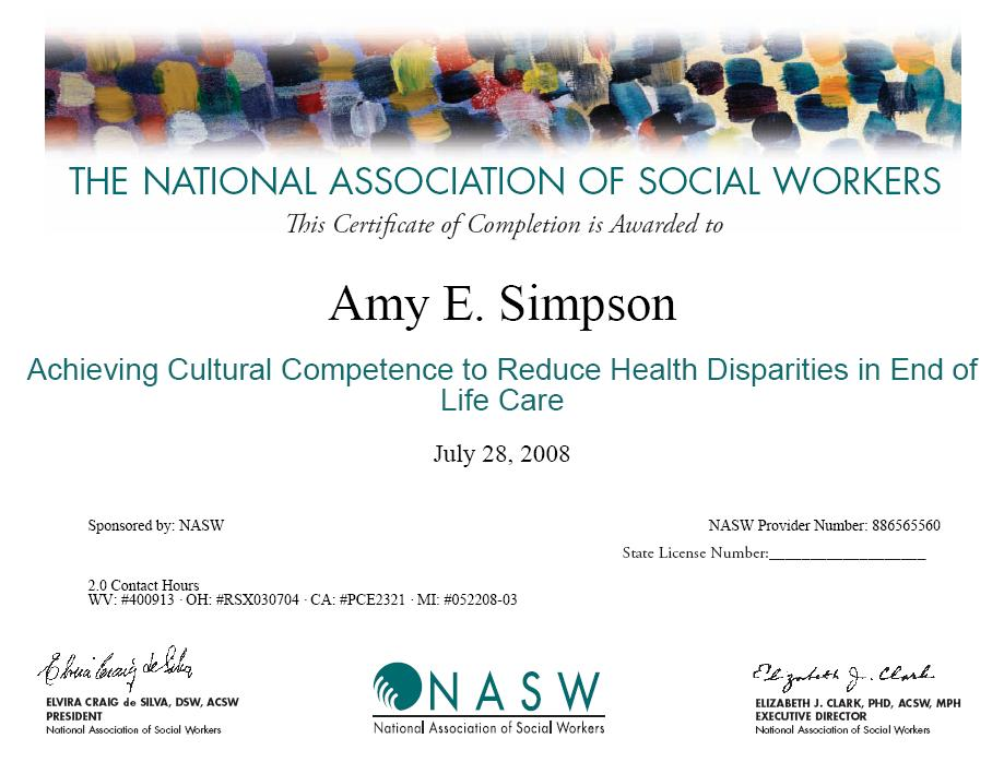photograph regarding Nasw Code of Ethics Printable identified as Beth Cullors Social Get the job done e-Portfolio / Knowledgeable Enhancement